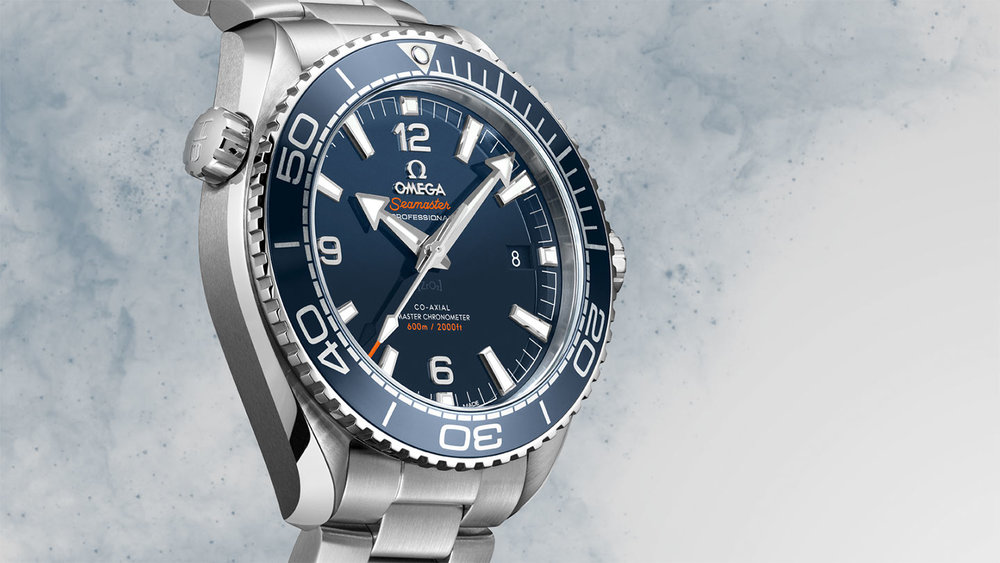 The Omega Planet Ocean is a better tribute to the original Seamaster 300 than any reissue could be. Photo courtesy of Omega.
