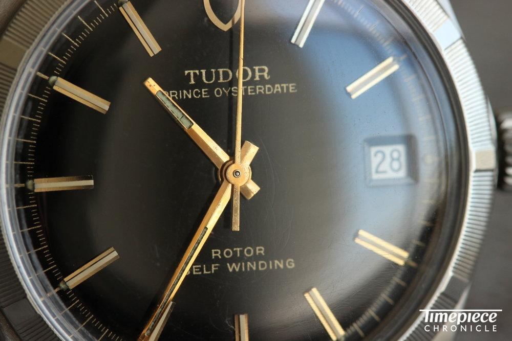 Tudor Prince Oysterdate dial 5 macro.JPG
