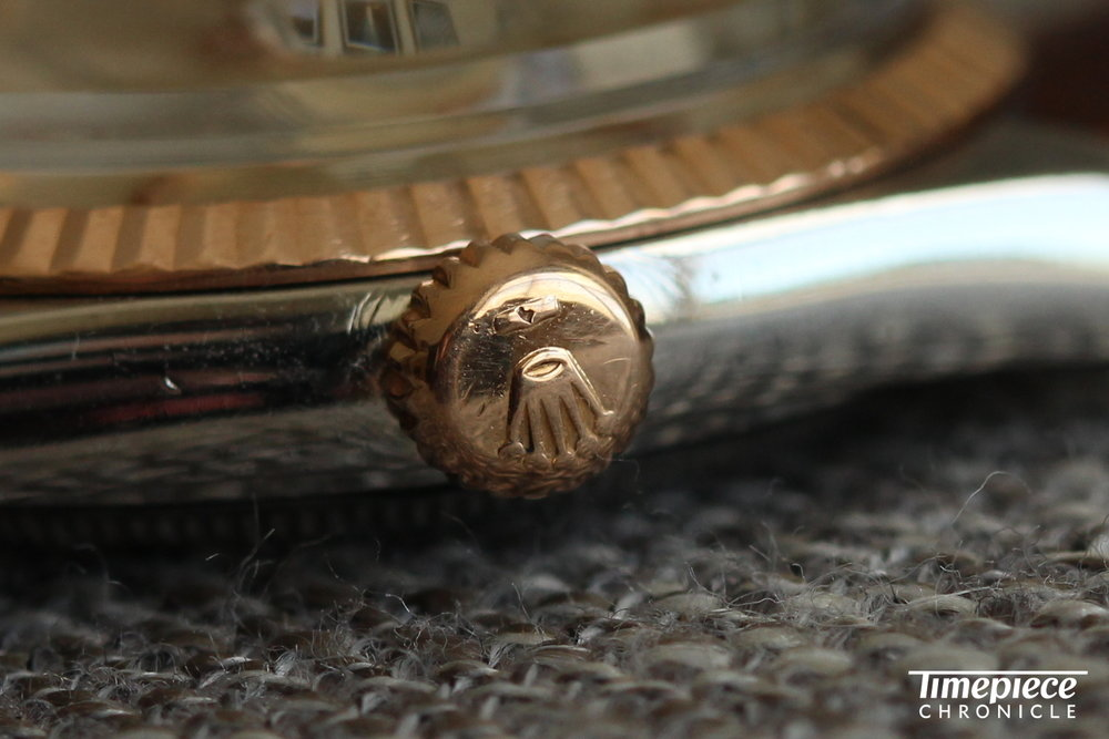 Rolex Datejust Ref. 1603 crown 1.JPG