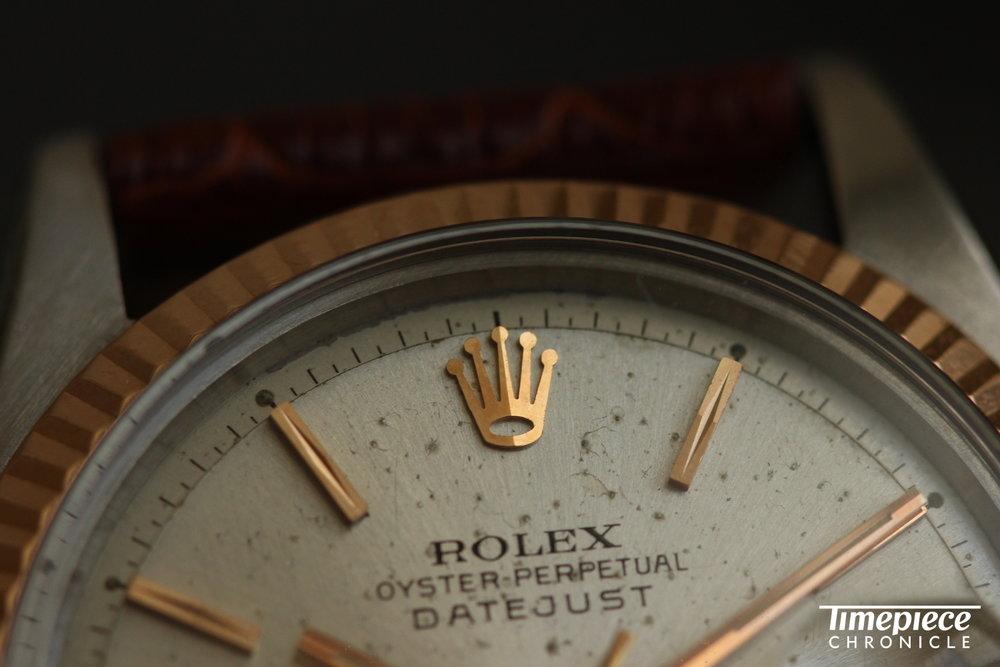 Rolex Datejust Ref. 1603 dial macro 1.JPG