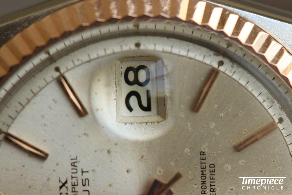 Rolex Datejust Ref. 1603 dial macro 7.JPG