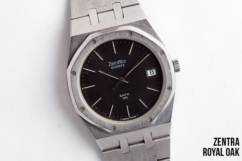 The Zentra 'Royal Oak'. Homage? Copy? You decide.