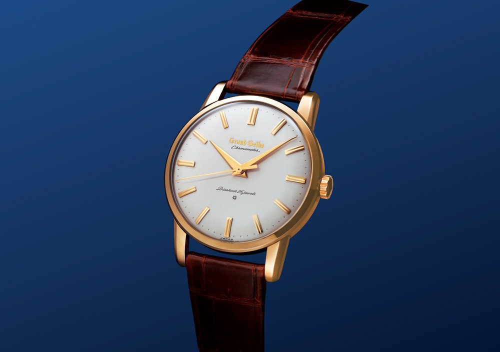 The first Grand Seiko Ref. 3180 from 1960. Photo courtesy of Seiko.