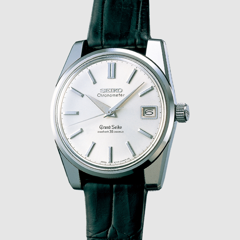 The Grand Seiko 57GS from 1964. Photo courtesy of Seiko.