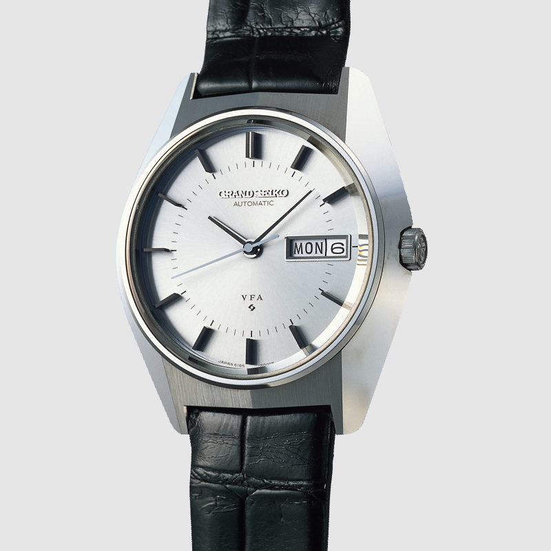 Seiko marked all of their VFA watches on the dial and also on the movement, like on this 61GS.VFA from 1969.