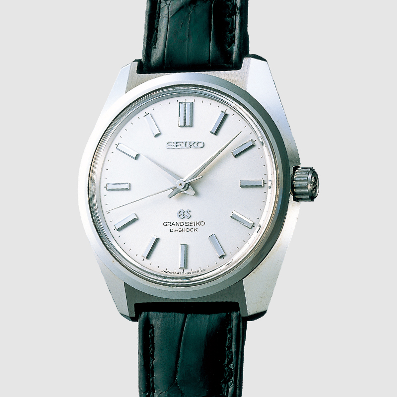 The Grand SEiko 44GS from 1967. Photo courtesy of Seiko.