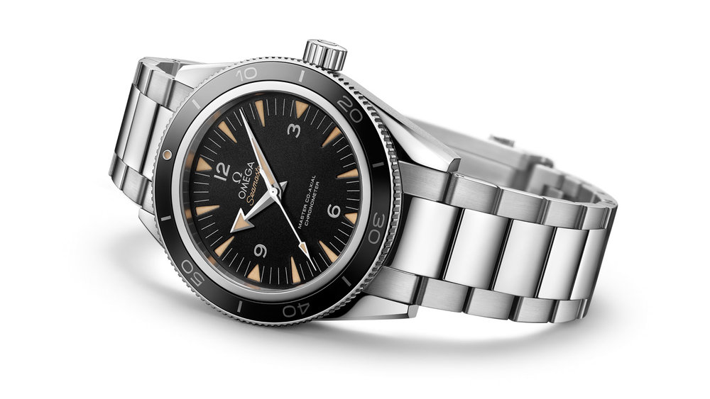 The modern Seamaster 300. Photo courtesy of Omega.
