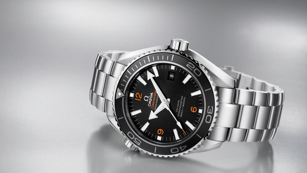 The Omega Seamaster Planet Ocean 600M. Photo courtesy of Omega.