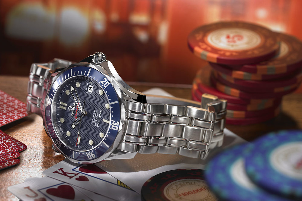 The Omega Seamaster Professional 300M. Photo courtesy of Omega.