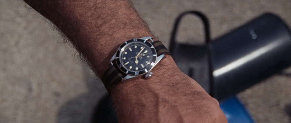 Once again, Connery wears the Rolex Submariner Ref. 6538