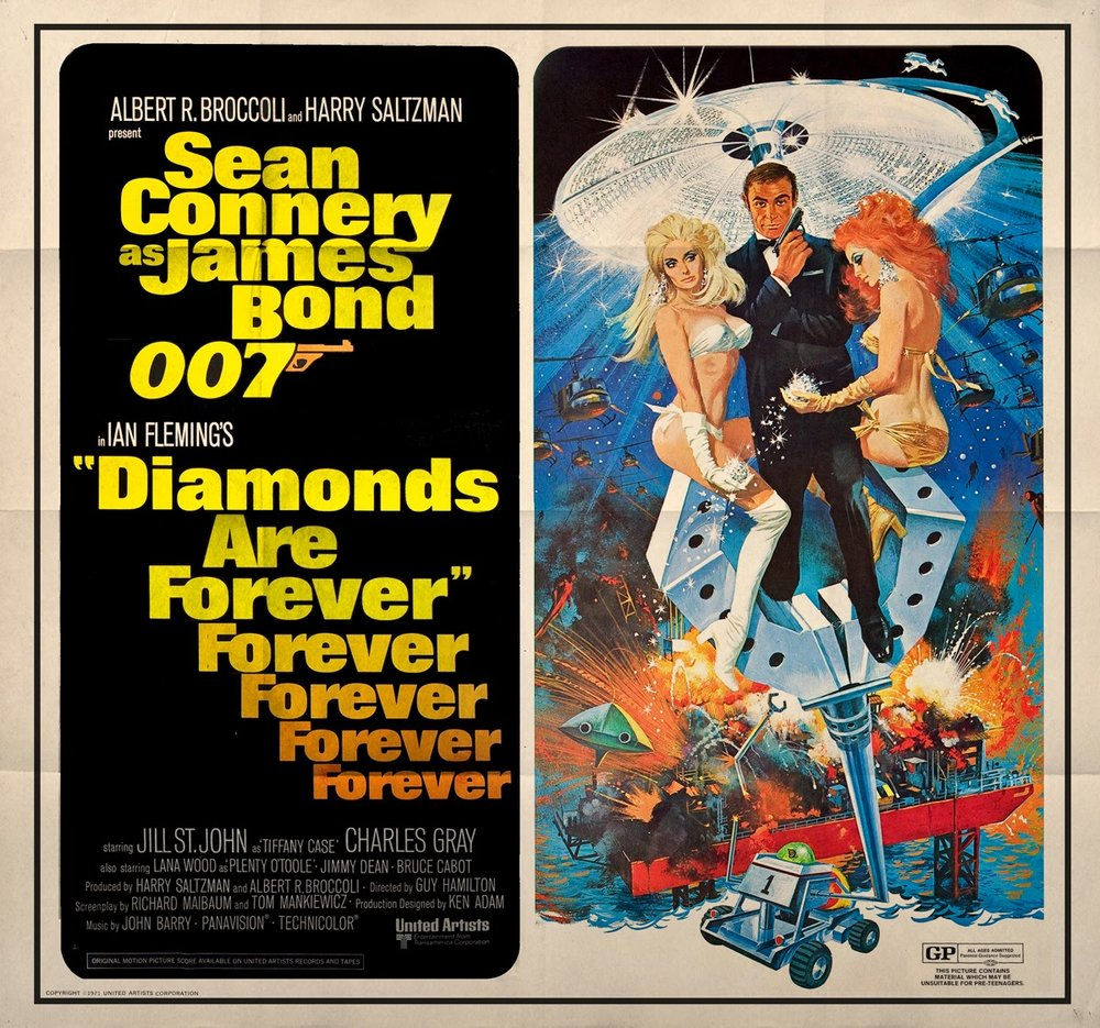 diamonds are forever jame4s bond 007 us subway poster.jpg