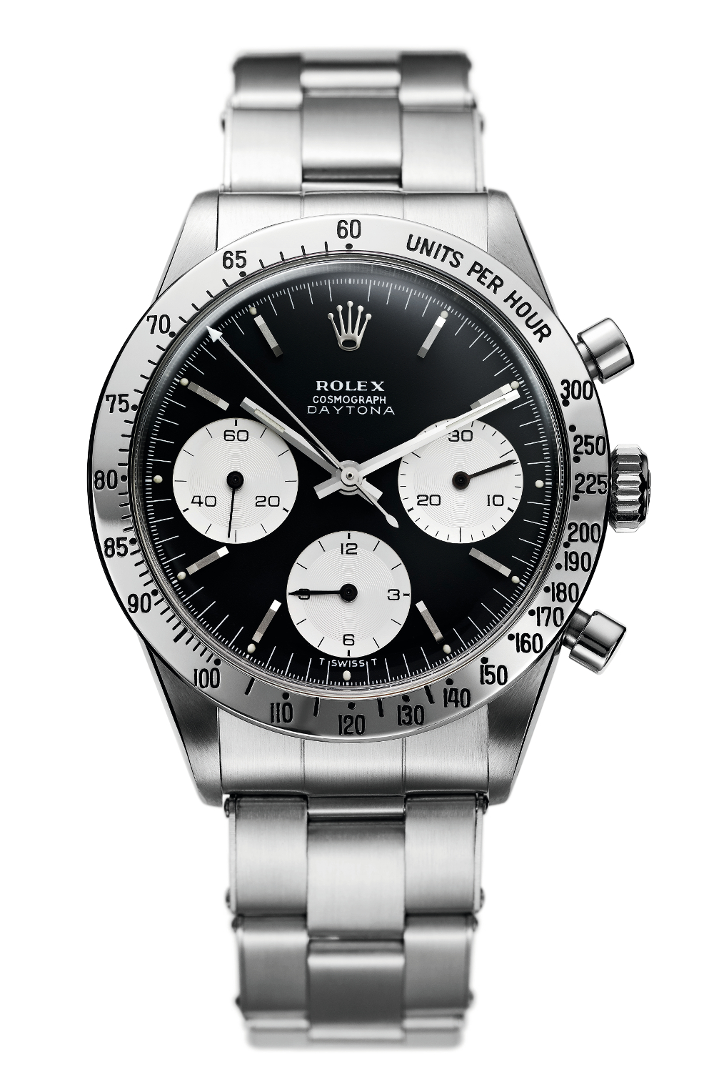 The first Rolex Cosmograph Daytona. Photo courtesy of Rolex.