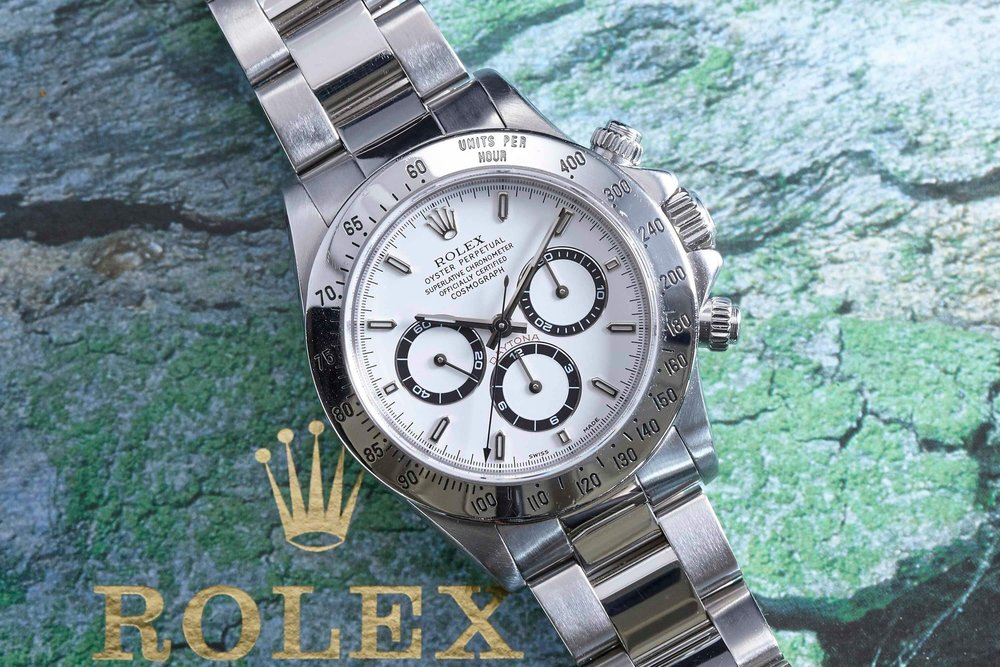 The Rolex Cosmograph Daytona Ref. 16520. Photo courtesy of analog/shift