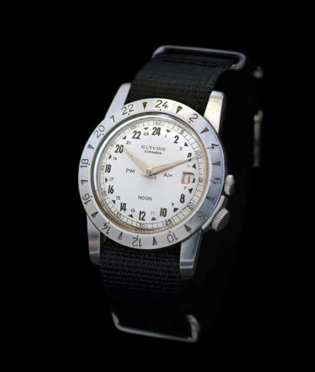 The first Glycine Airman. Photo courtesy of Andre Stikkers and Betsy Dougherty.