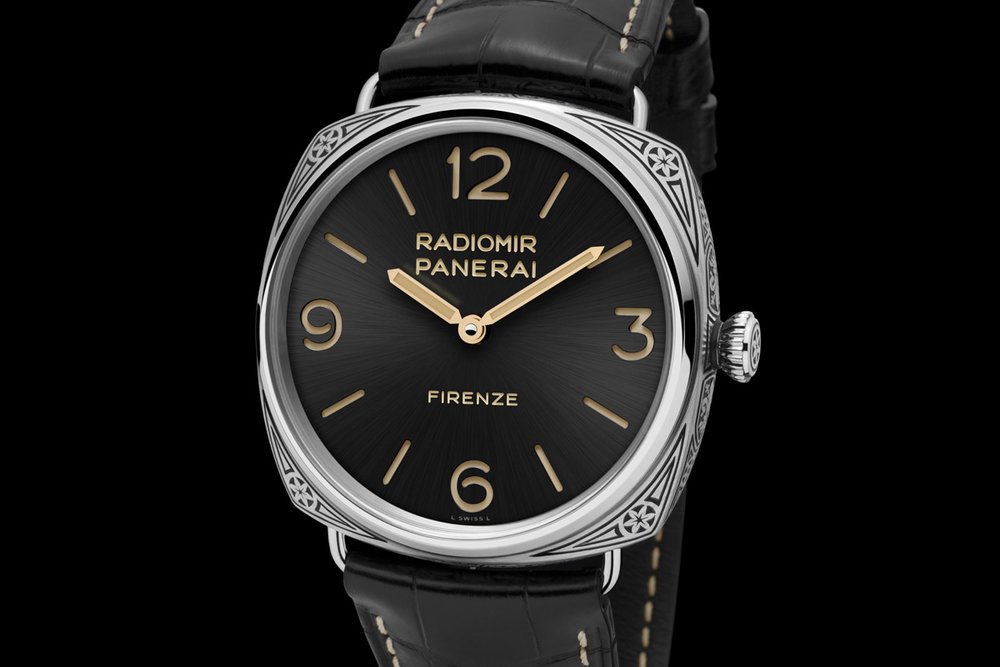 Panerai Radiomir 3 Days Accioio Limited Edition  ©Panerai