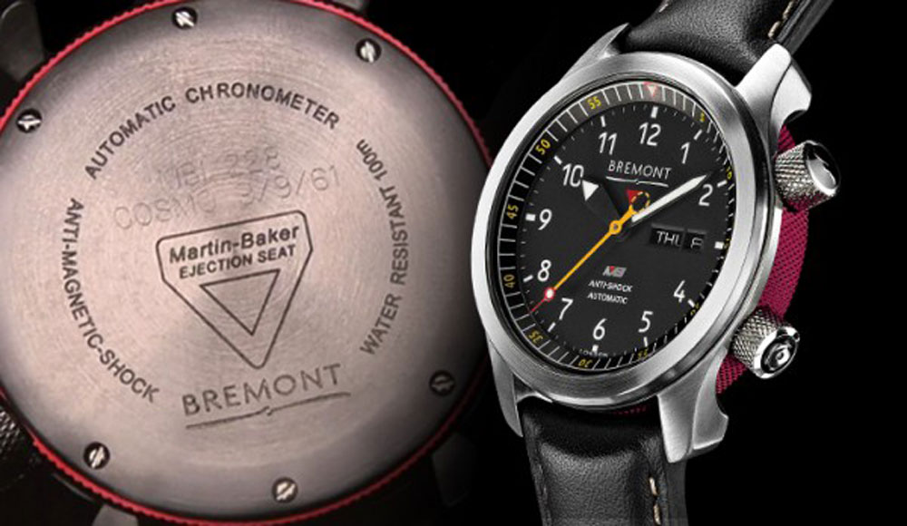 Jimmy Fallon's Father-in-Law's Bremont MBI  ©Bremont Ltd