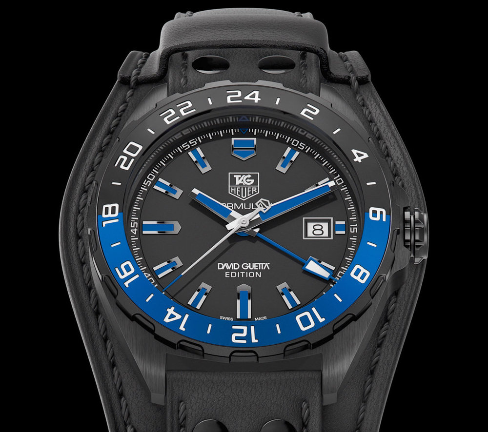 TAG Heuer David Guetta GMT Limited Edition  ©TAG Heuer Ltd