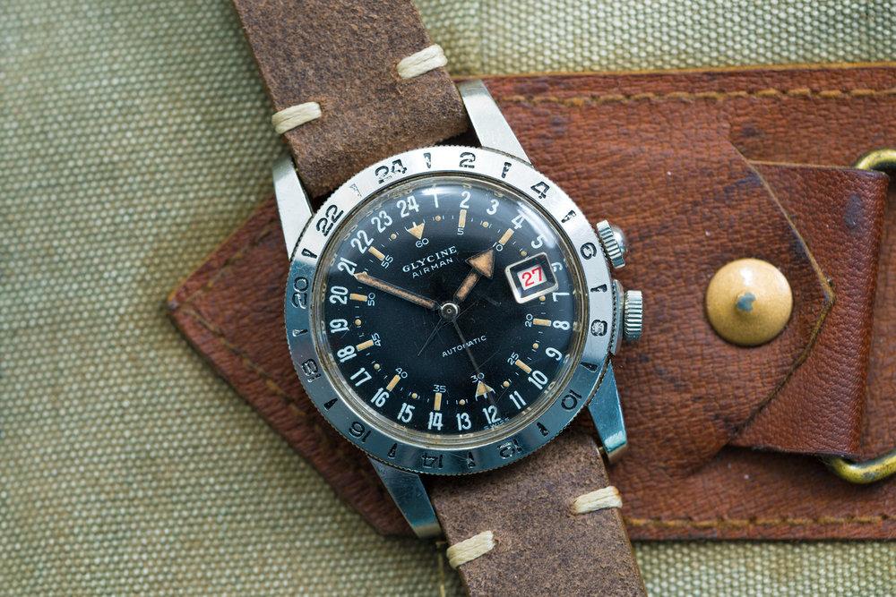 The Glycine Airman. Photo courtesy of Those Watch Guys