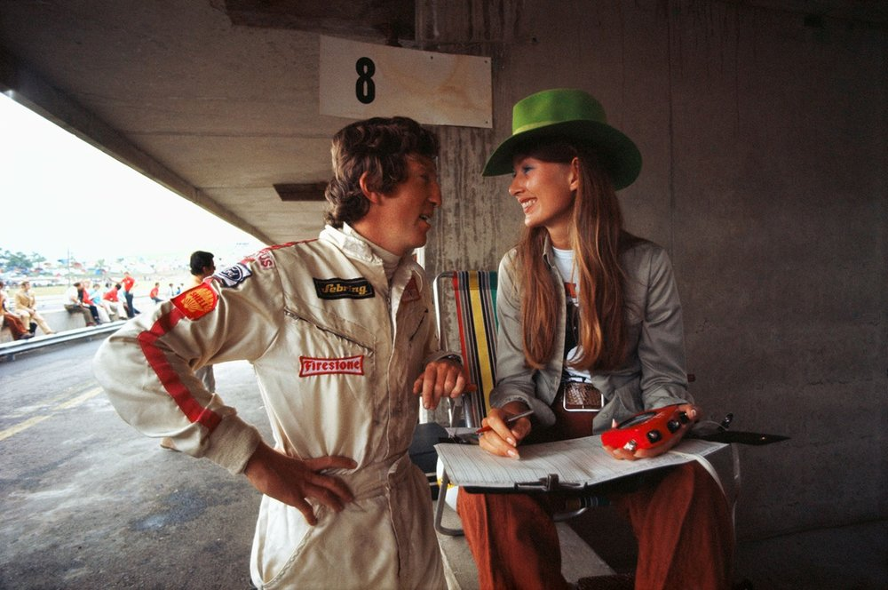 Nina Rindt with husband Jochen Rindt.