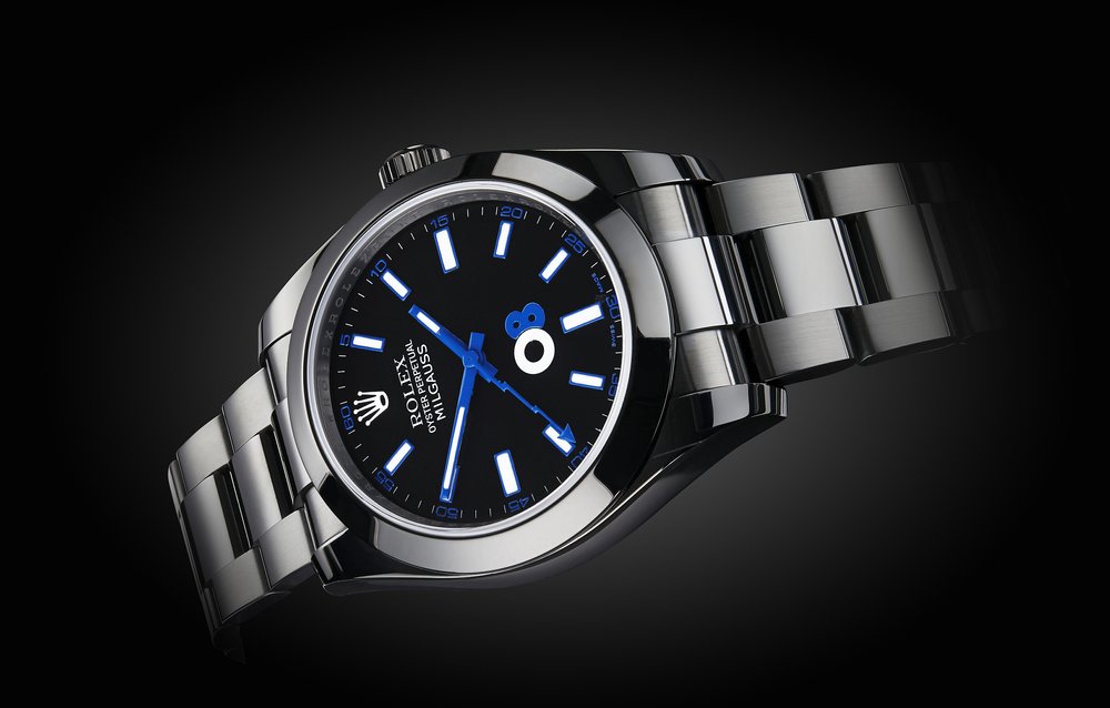 The Titan Black Oscar Milgauss. Image courtesy of Titan Black.