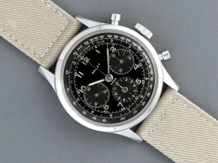 Gallet MutliChron 12H. Photo courtesy of Ebay.