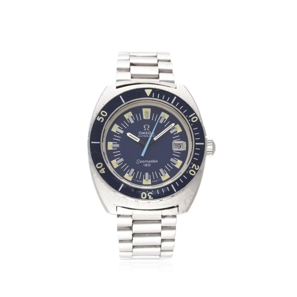Lot 193 - Omega Seamaster 120. Image courtesy of Watches of Knightsbridge.