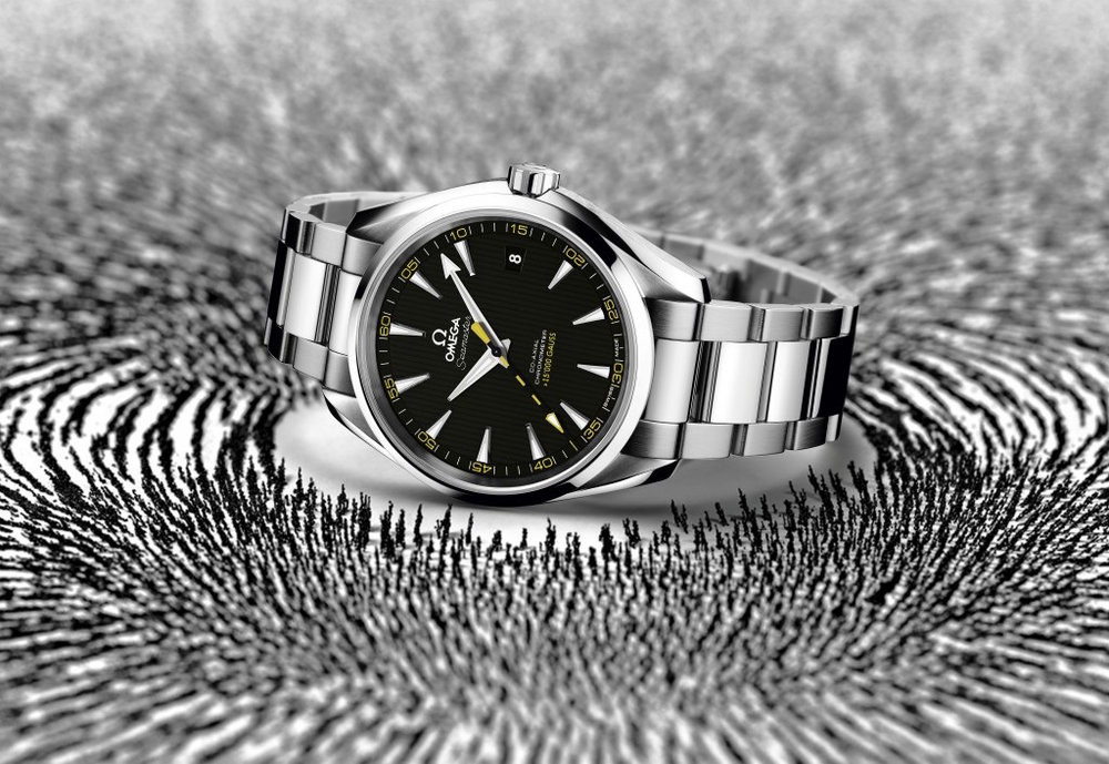 The Omega Aqua Terra >15,000 Gauss. Image courtesy of Omega.