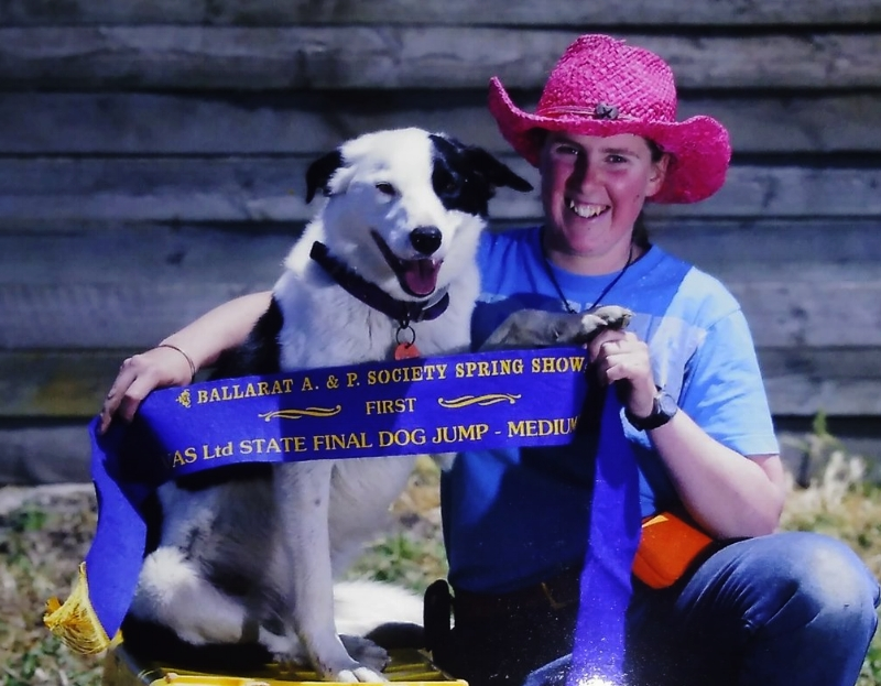 Saveloy and his owner tiah drake over the moon about claiming 1st prize at the state final 2016