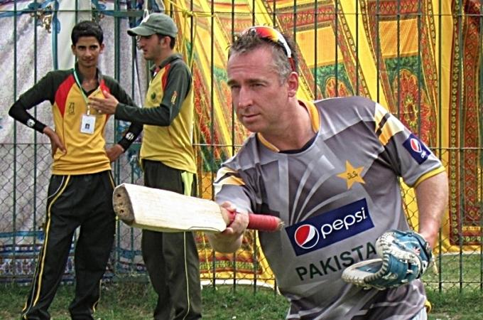 Julien Fountain as Pakistan's fielding coach. His background in baseball has allowed him to improve the standard of fielding for elite cricketers.