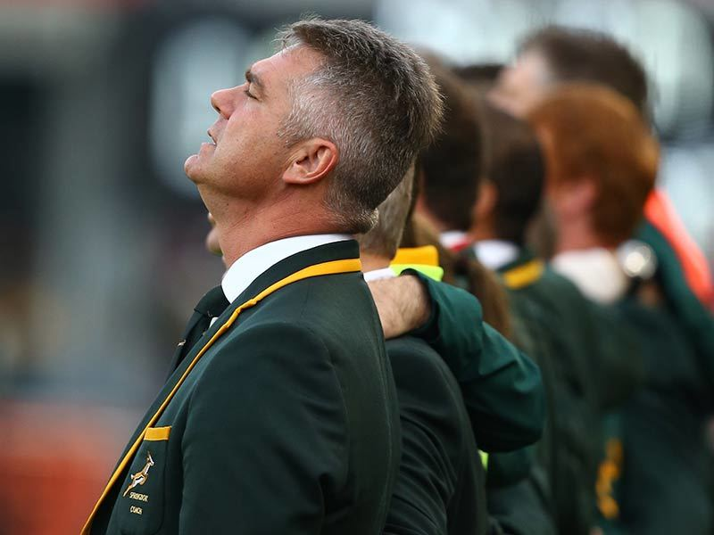 Heyneke bleeds the Green and Gold of the Springboks, but his results as head coach of South Africa's national rugby team have been underwhelming. After being knocked out of the 2015 Rugby World Cup by New Zealand in the semi-finals, Meyer's future remains in doubt.