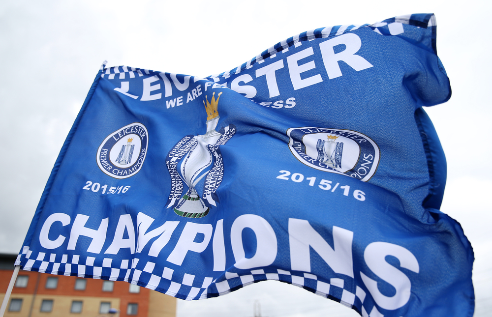 It's official! Leciester City, a small team from the English Midlands, are the new English Premier League Champions.  Image supplied by Action Images /      Matthew Childs
