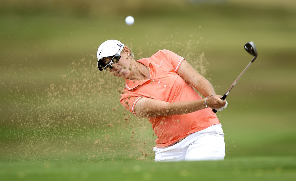 Ashleigh Simon admits that even at 27 she still feels like a seasoned pro on tour.