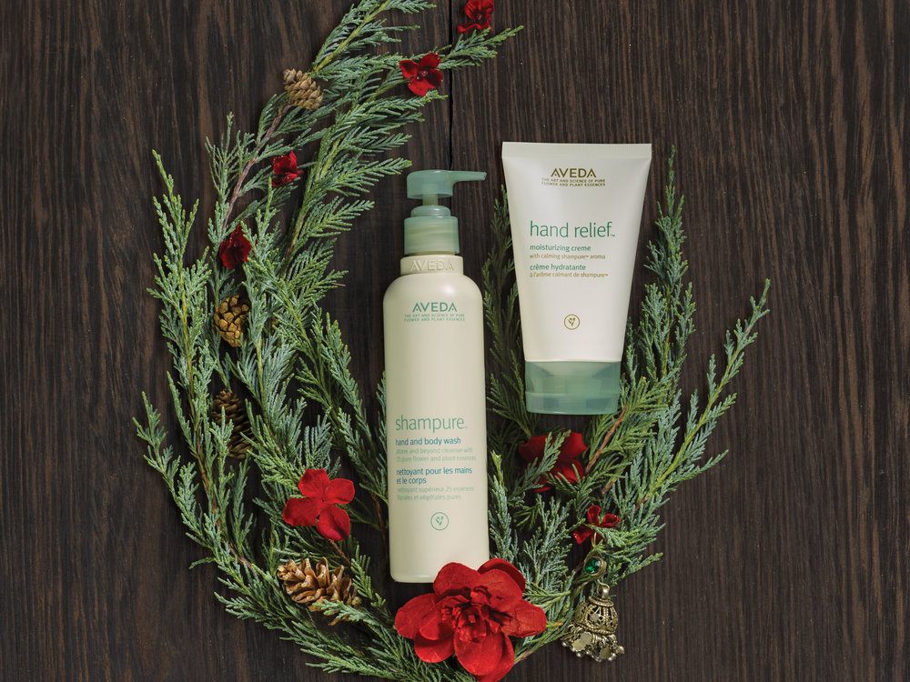 Feeling Calm is a Gift: $45  hand relief™ moisturizing creme with shampure™ aroma, 125 ml  shampure™ hand and body wash, 250 m