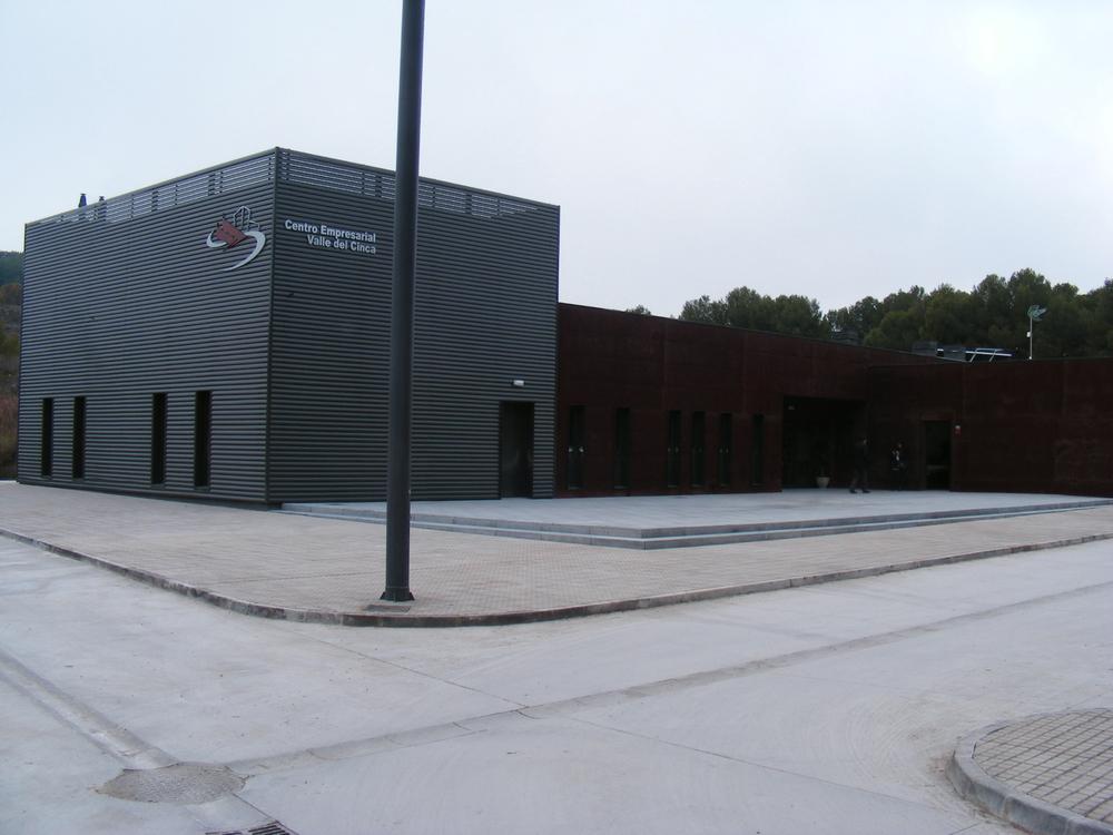 Aulas del Centro Empresarial Río Cinca