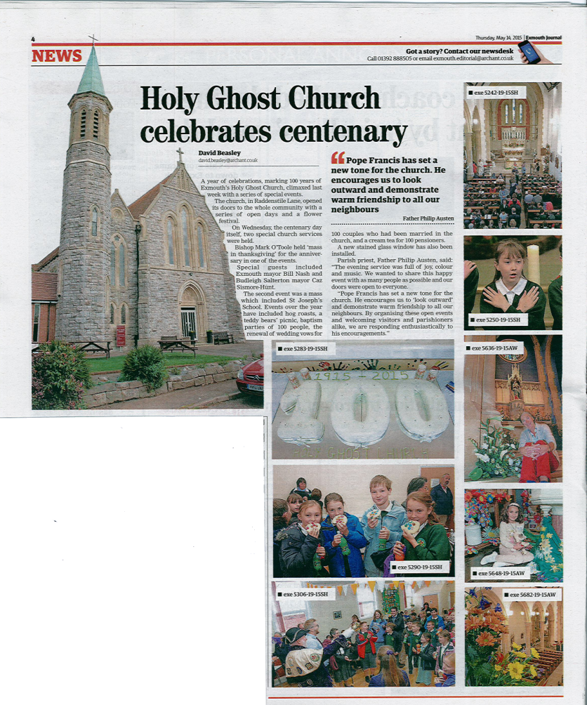 Holy Ghost in the News...