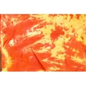 яркий, красно-желтый тканевыйфон 2,7 м на 5м. Установка фона 300руб/фон