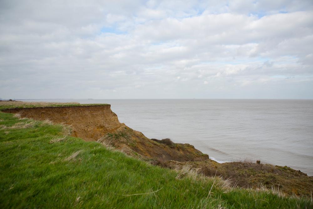 walton on naze cliff fronts