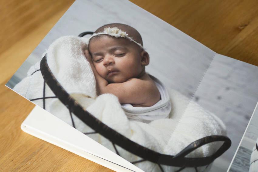 newborn baby photo book