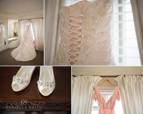 wedding dress and details