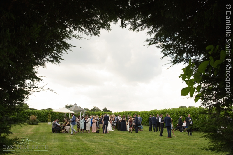 wedding guests reception - old brook barn wedding