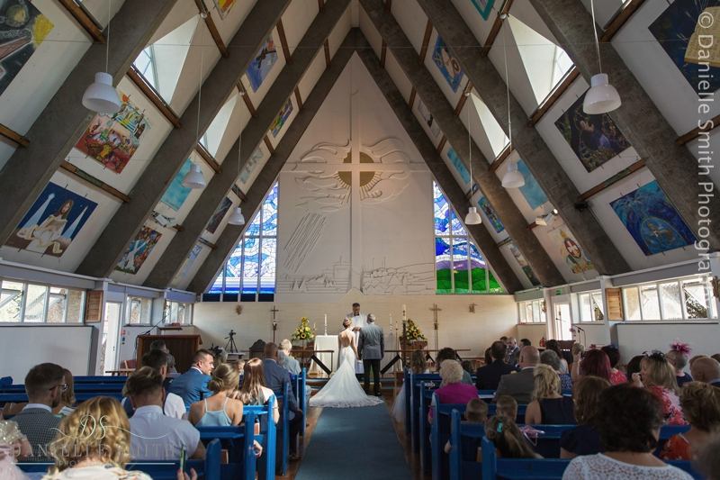 triangle church ceremony