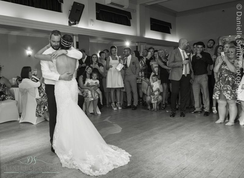 bride and groom first dance - arlington ballrooms wedding