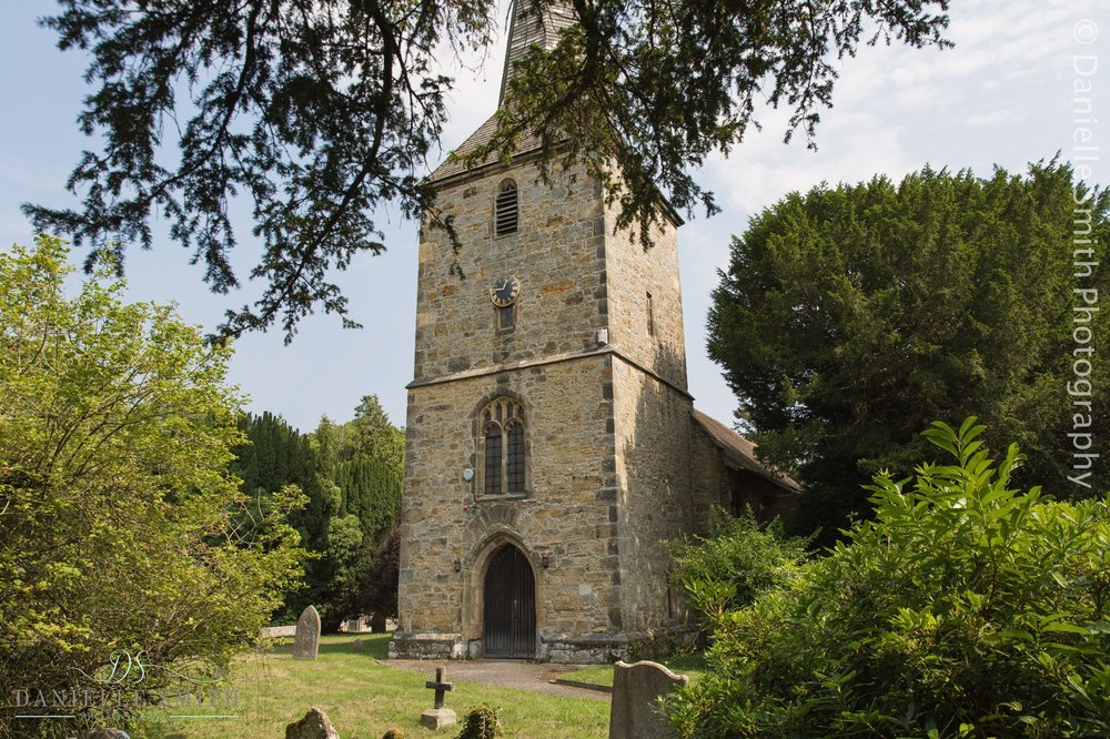 Hever church from outside