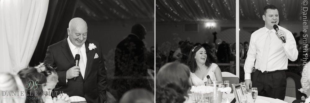wedding speeches at fennes
