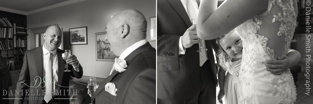 wedding guests enjoying themselves - fennes intimate wedding