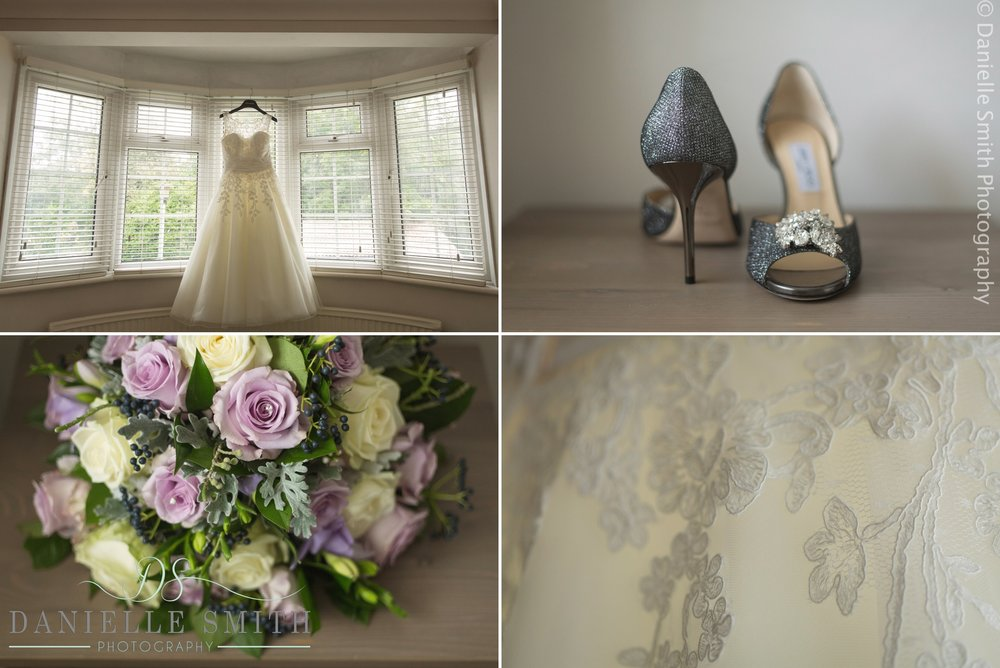 jimmy choo wedding shoes and bridal details