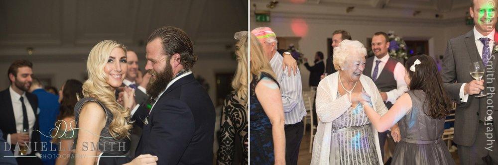 wedding guests dancing - stock brook manor