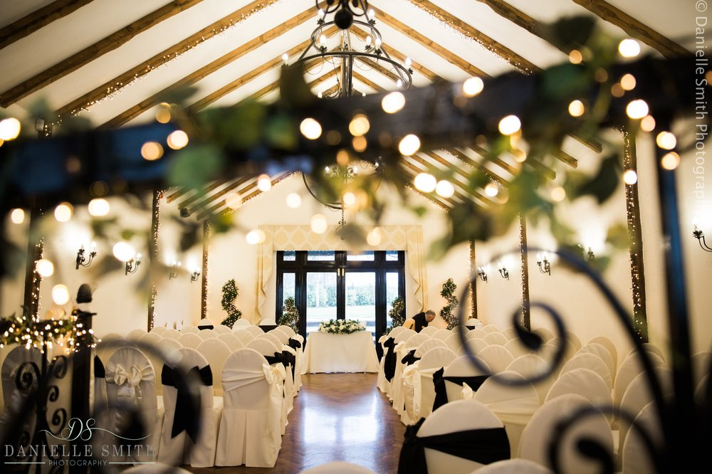 crondon park ceremony room - new years eve wedding