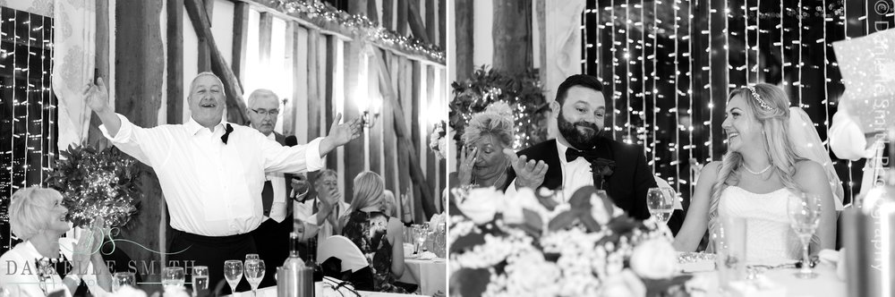 wedding speeches at crondon park