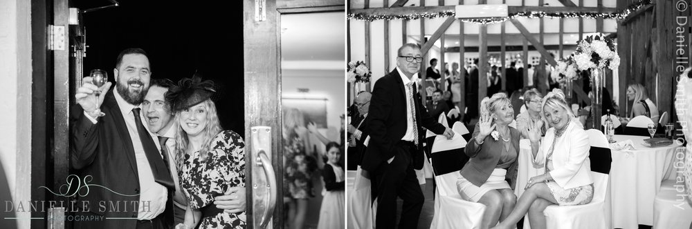 wedding guests having fun- new years eve wedding